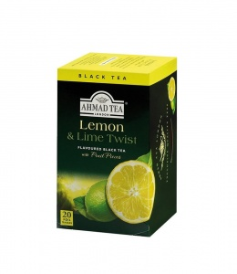 Ahmad Tea Lemon Lime herbata 20 torebek