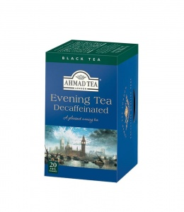 Ahmad Evening Tea Decafeinated herbata 20 torebek