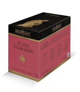 Richmont Pu-Erh Strawberry Herbata 50 saszetek