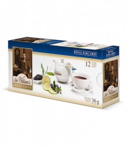 Sir Williams Royal Taste Royal Earl Grey Herbata 12 saszetek
