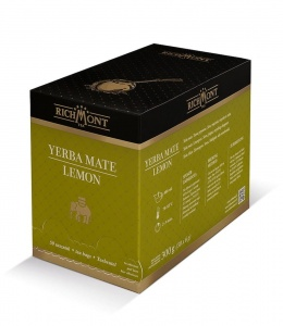 Richmont Excellence Yerba Mate Lemon Herbata 50 saszetek
