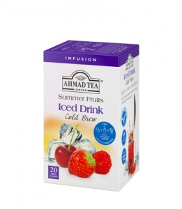 Ahmad Summer Fruits Cold Brew Iced Tea 20 saszetek
