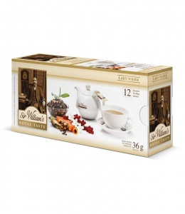 Sir Williams Royal Taste Lady White Herbata 12 saszetek