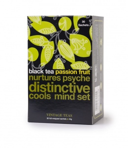 Vintage Teas herbata Black Tea Passion Fruit - 30 torebek