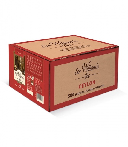 Sir Williams Tea Ceylon Herbata 500 saszetek